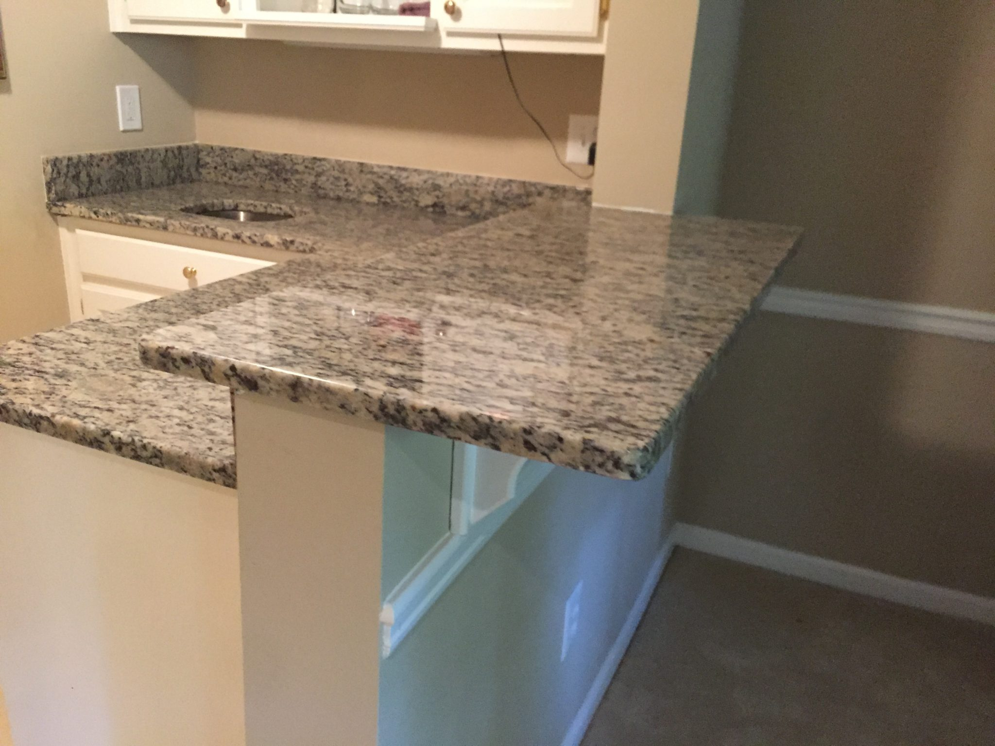Project Profile Santa Cecilia Light Granite Countertop In Johns Creek Ga