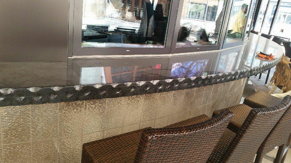 Project Featuring Black Galaxy Granite Countertops for Kona Grill in Alpharetta