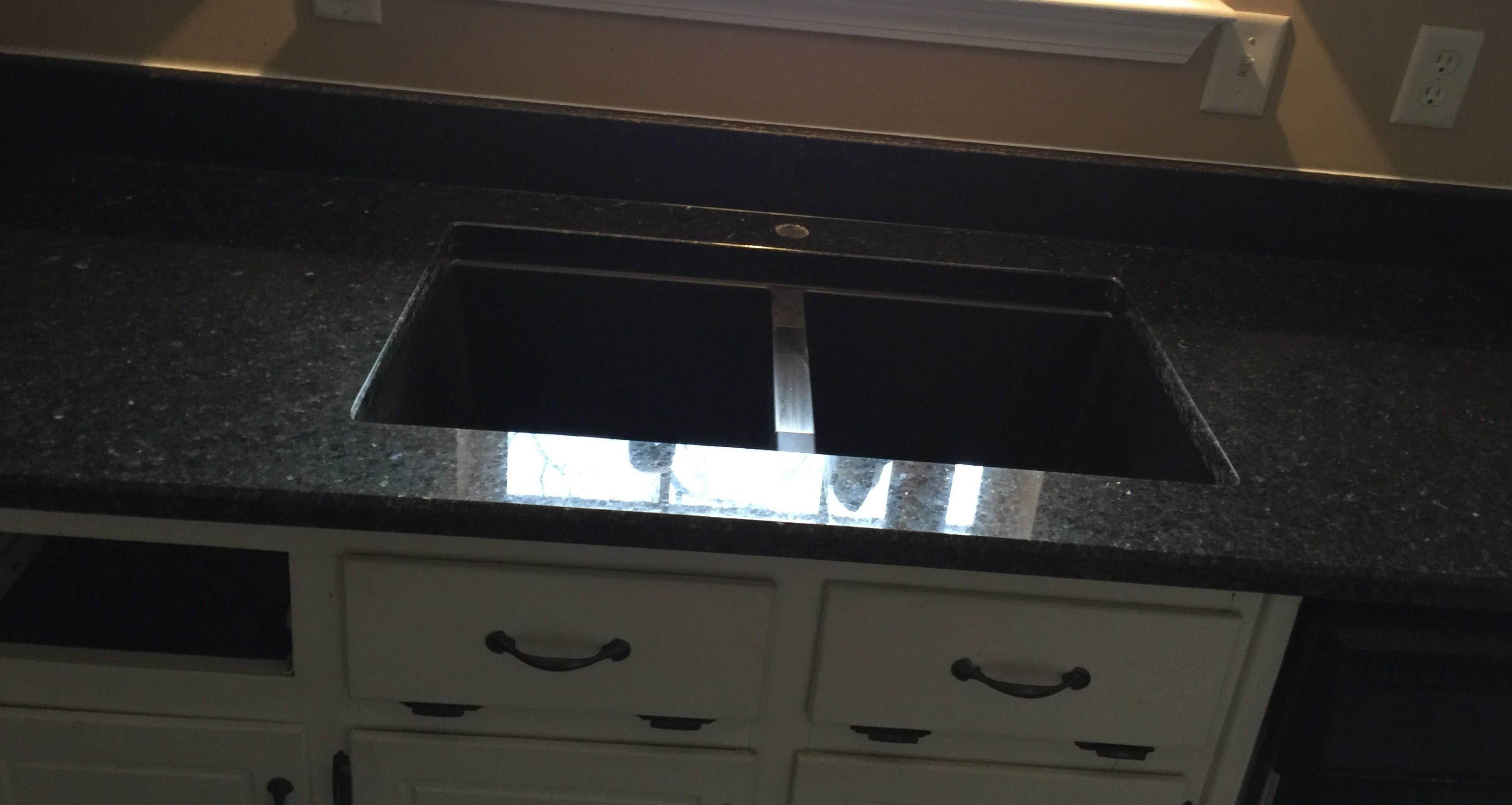 Project Profile: Uba Tuba Granite Kitchen Countertops in Dallas, GA Granite Countertop Warehouse