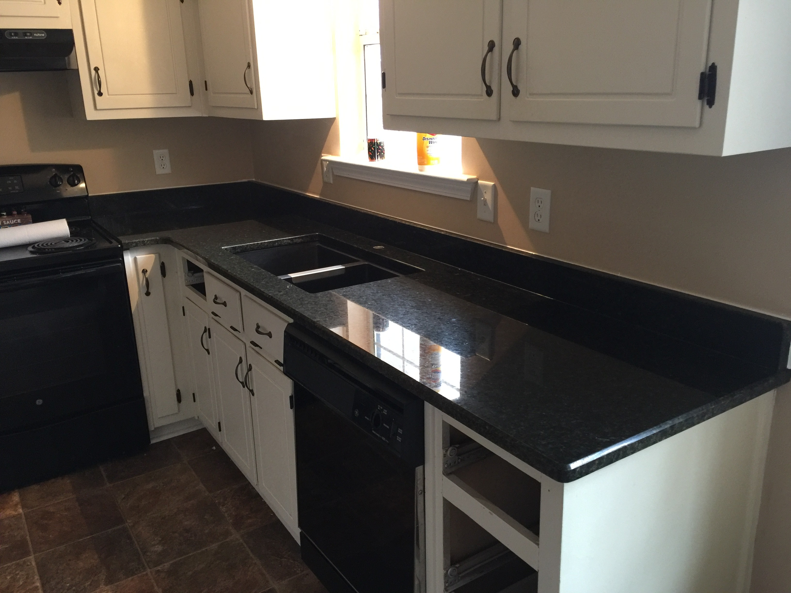 Project Profile Uba Tuba Granite Kitchen Countertops In Dallas Ga