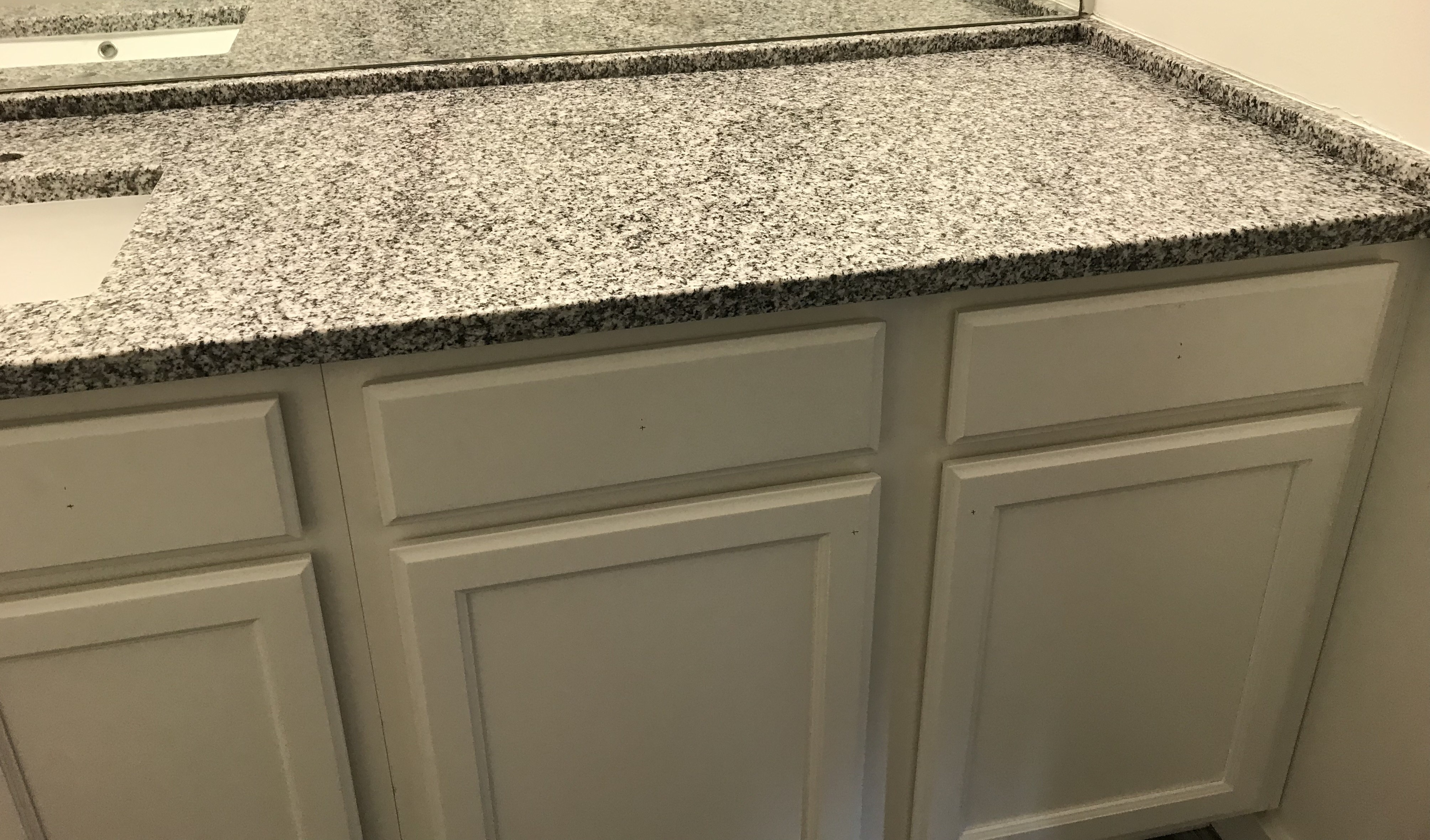 Project Profile: Bianco Sardo Granite Bathroom Vanity in Atlanta,