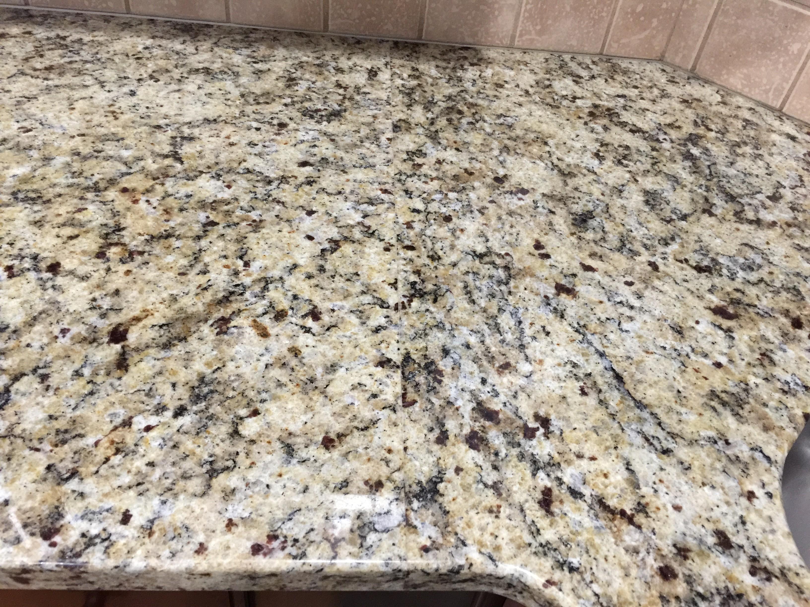 Project Profile: Giallo Napoli Granite Countertops in Dallas, GA 2