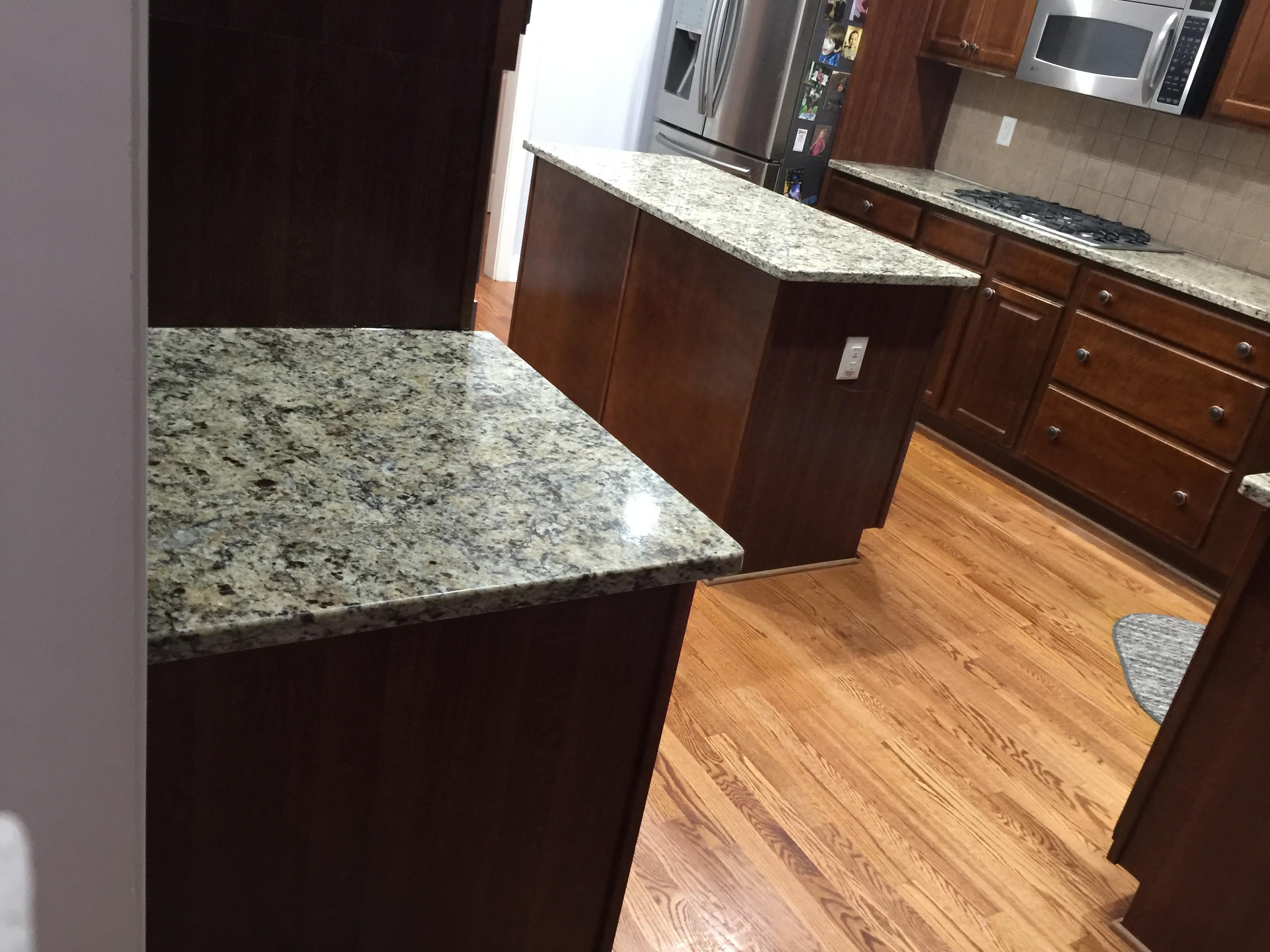 Project Profile: Giallo Napoli Granite Countertops in Dallas, GA