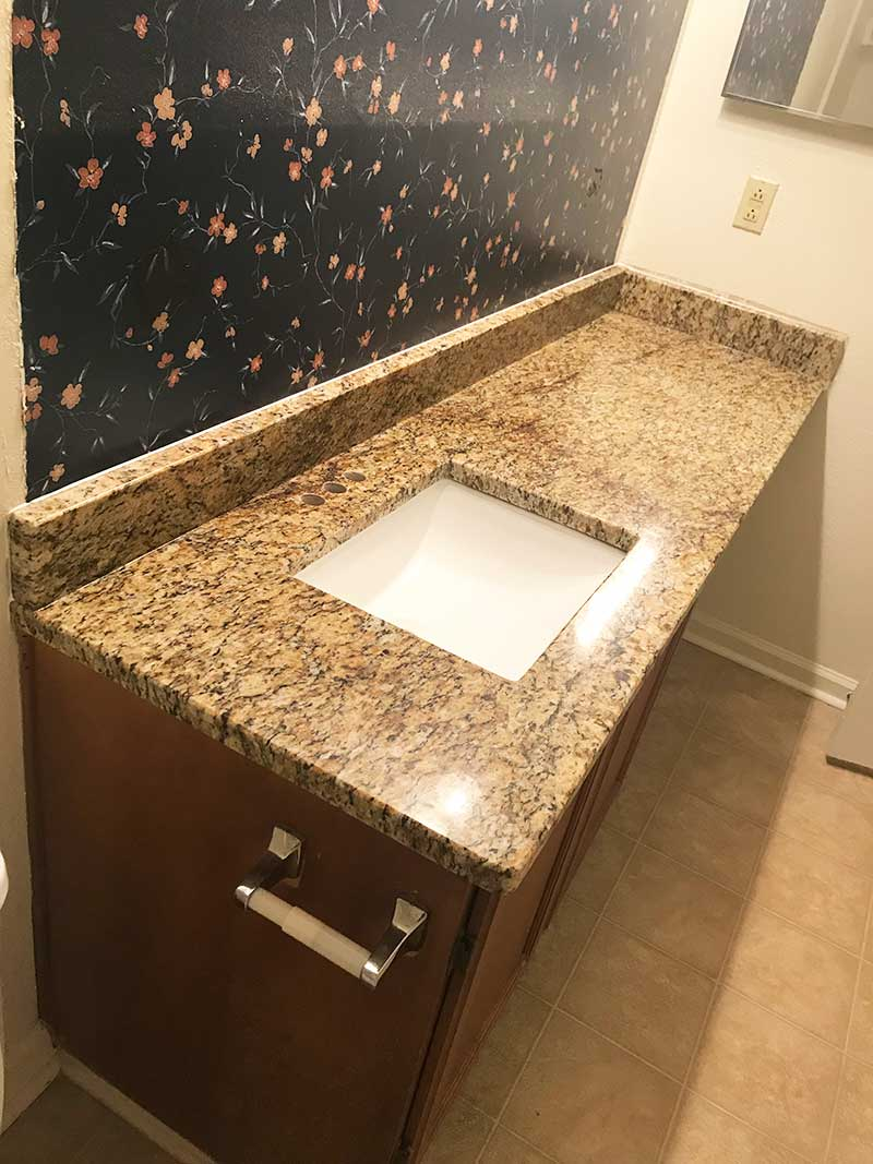 Photo of Santa Cecilia Classic installed for a customer in Roswell, GA.