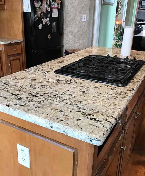 Photo Of Hawaii Granite Installed In A Customeru0027s Kitchen.