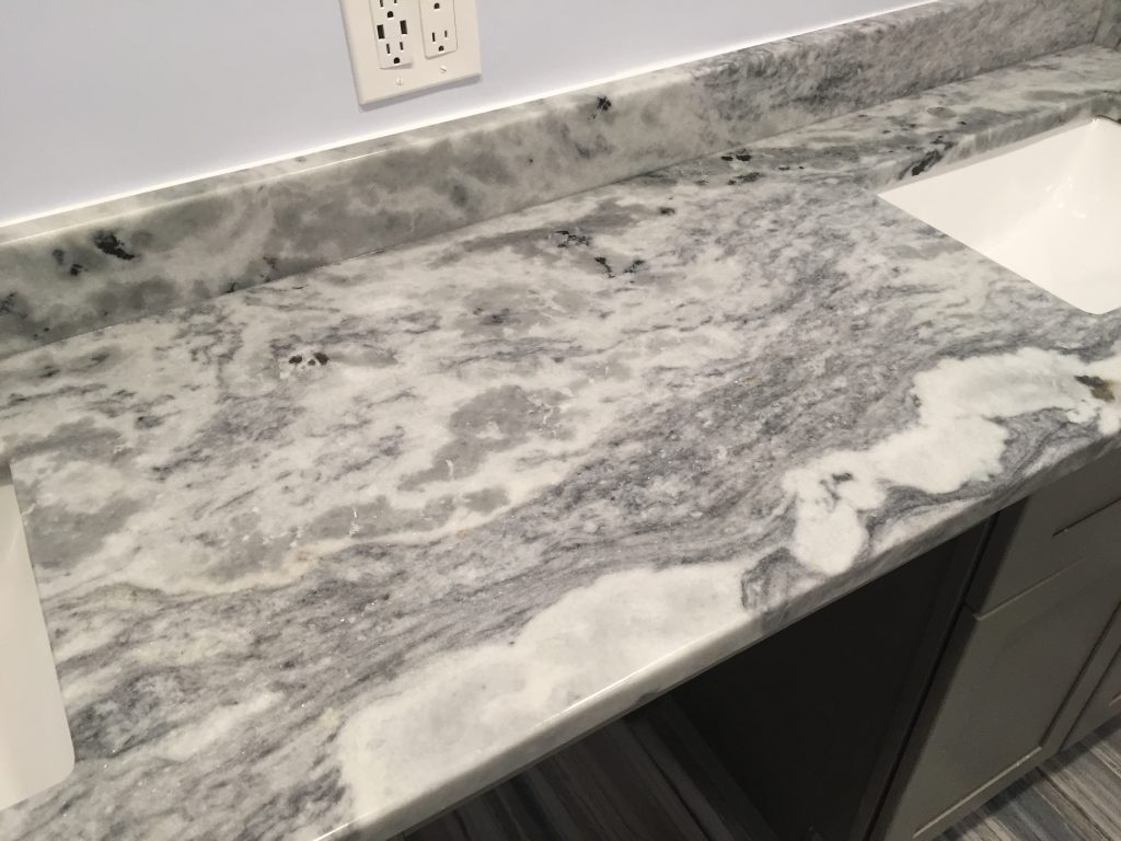 Shadow Storm Marble Bathroom Vanity in Kennesaw