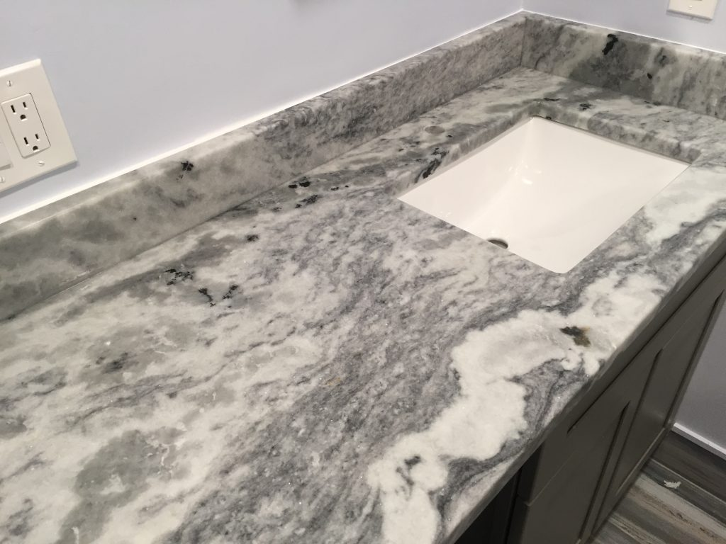 Shadow Storm Marble Bathroom Vanity in Kennesaw2