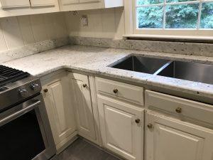 Extreme White Granite Kitchen Countertops in Marietta3