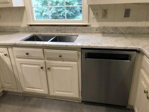 Extreme White Granite Kitchen Countertops in Marietta2