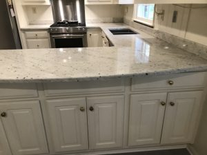 Extreme White Granite Kitchen Countertops in Marietta